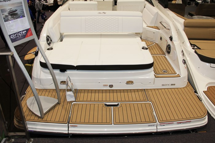 sea ray sdx 250 swim platform