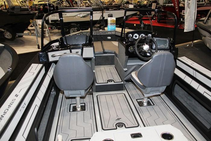 starcraft titan 176 seat rear