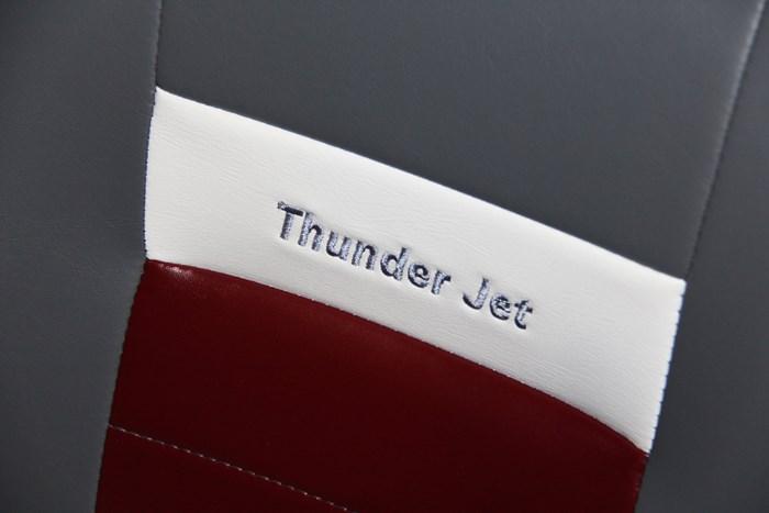thunder jet 186 rush seat