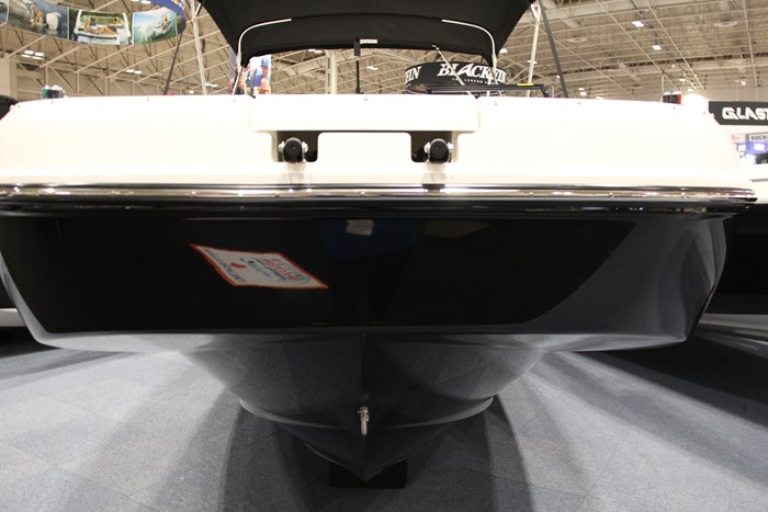 Bayliner DX2250 front bow view