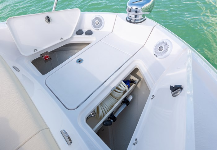 regal 38 grande coupe bow storage