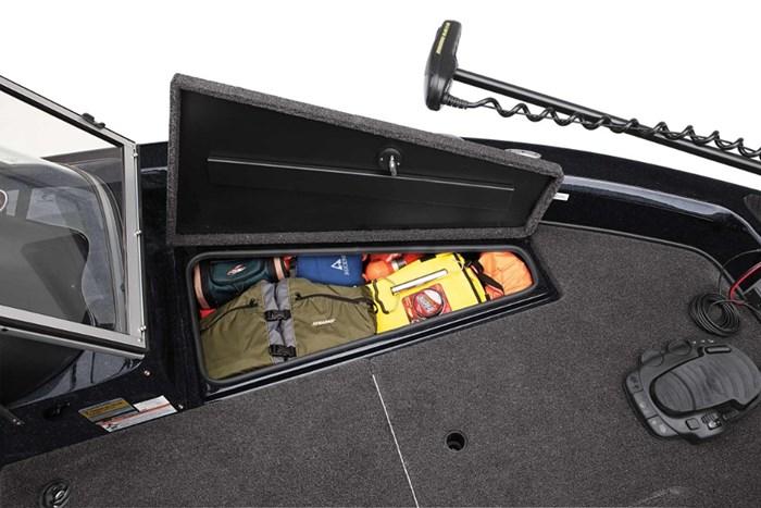 triton allure 186 storage
