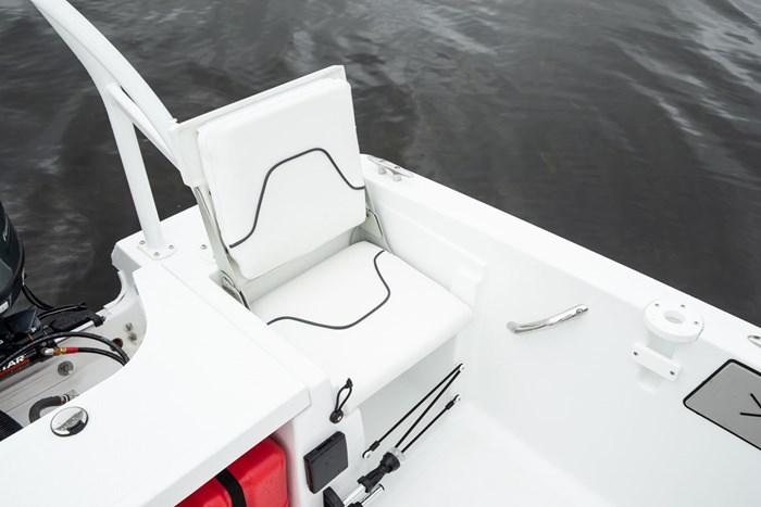 wellcraft 162 fisherman rear seat