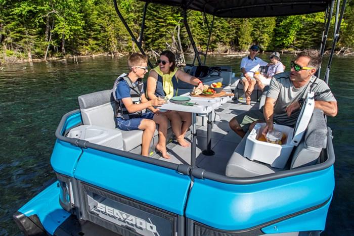 Sea-Doo Switch Cruise Interior Lifestyle