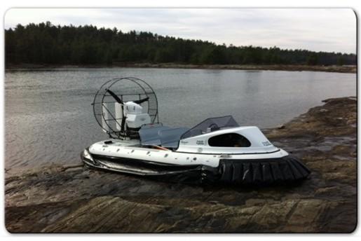 airrider hovercraft land