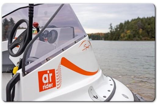 airrider hovercraft steering