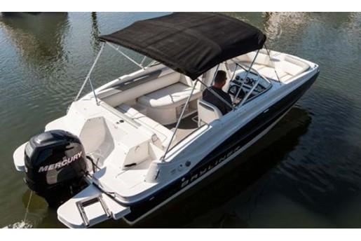 bayliner 190 deck boat bimini top