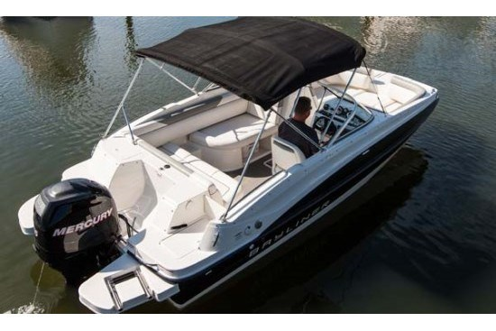 bayliner 190 deck boat bimini top