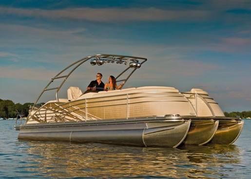 2012 Bennington 2575 Qcw I O Pontoon Boat Review