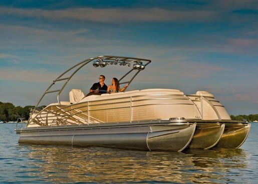 2012 Bennington 2575 Qcw I O Pontoon Boat Review Boatdealers Ca