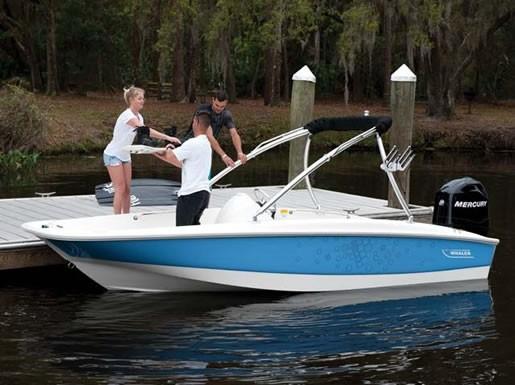 Whaler 170 Sport Dockside