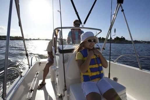 boston whaler 170 dauntless kid fun