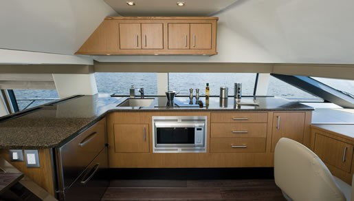Carver 54 v galley