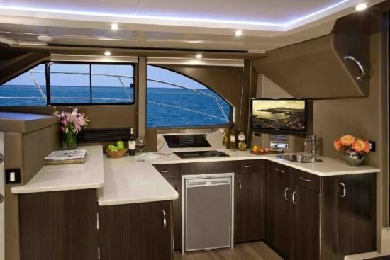 carver yacht c34 kitchen