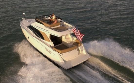 carver yacht c34 running