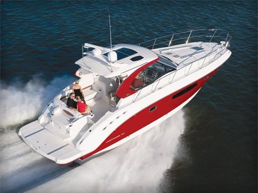 2012 Chaparral 420 Premiere Sport Yacht Run 12