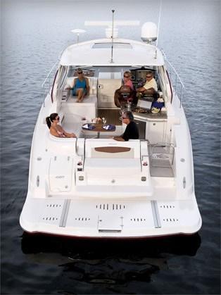 2012 Chaparral 420 Premiere Sport Yacht MainCockpit 12