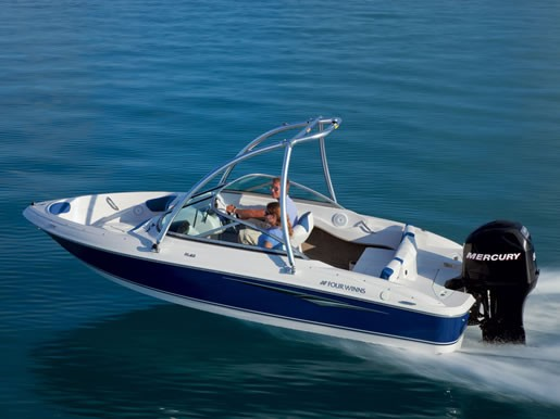 2011 four winns h180 ob bowrider boat review for Bowrider boats with outboard motors