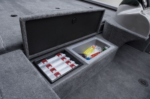 eagle talon 19 dlx tackle storage and cooler