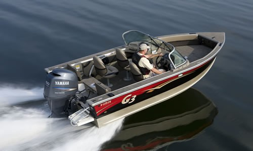 2010 g3 boats 175 fs p che en aluminium critique du bateau for Yamaha dealers in louisiana