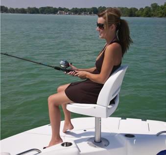 Hurricane 187 OB Sundeck FISH SEAT