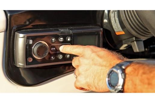 lowe pontoon x 230 radio