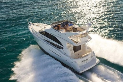 meridian yacht 341 running