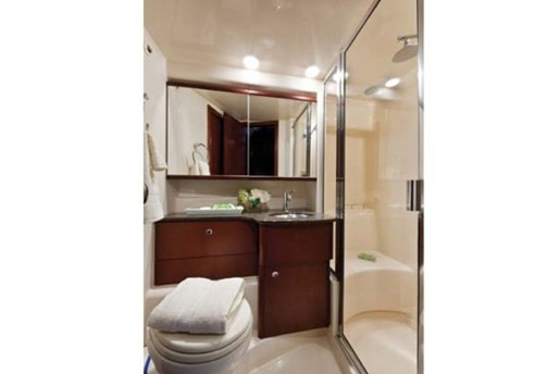 meridian yacht 341 washroom
