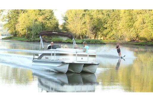 2013 Premier Pontoons Sunsation 220 Pontoon Boat Review