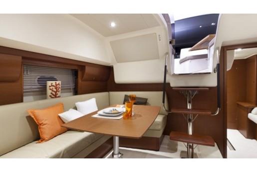 prestige yacht 390 s cabin