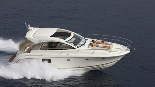 prestige yacht 390 s running