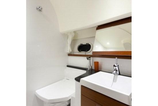 prestige yacht 390 s porti potti