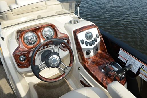 princecraft vogue 25xt console sport steering wheel