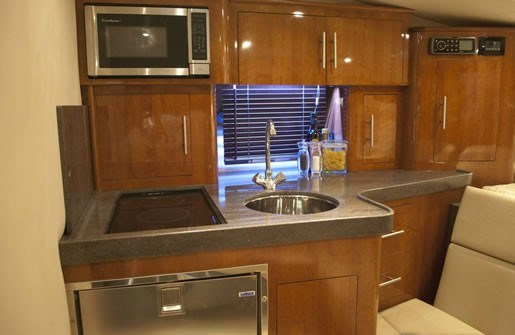 Regal 35 Galley