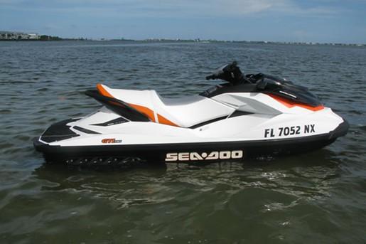 SeaDoo GTI Profile
