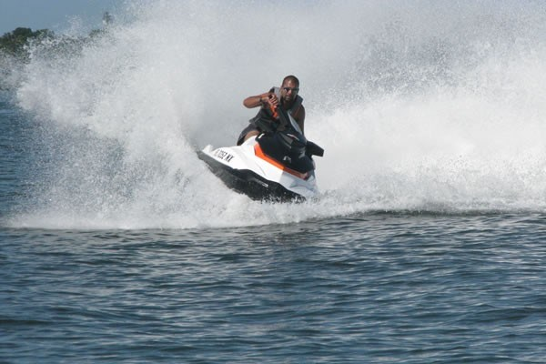 SeaDoo GTI Turning