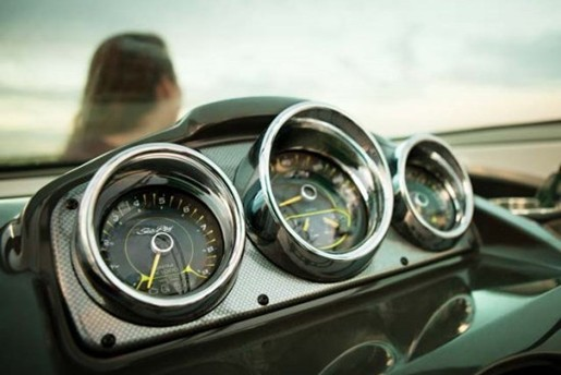 searay 21 jet speedometre
