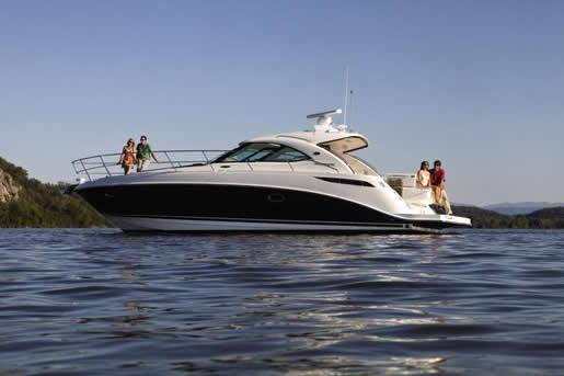 Sea Ray 410 Sundancer profile