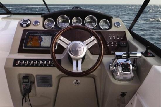 searay 370 venture helm