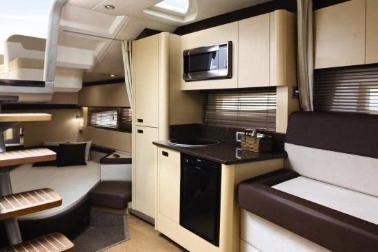 searay 370 venture kitchen