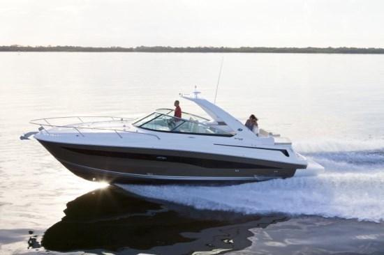 searay 370 venture running