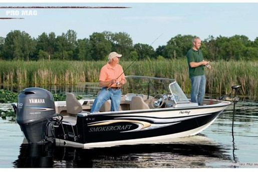 2010 smokercraft 182 pro mag aluminum fishing boat review for Smoker craft pro mag