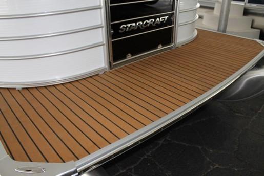 starcraft majestic 256 swim platform