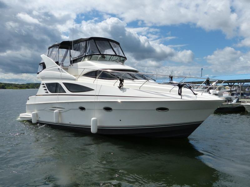 2012 Silverton 43 Sport Bridge Boat For Sale 43 Foot