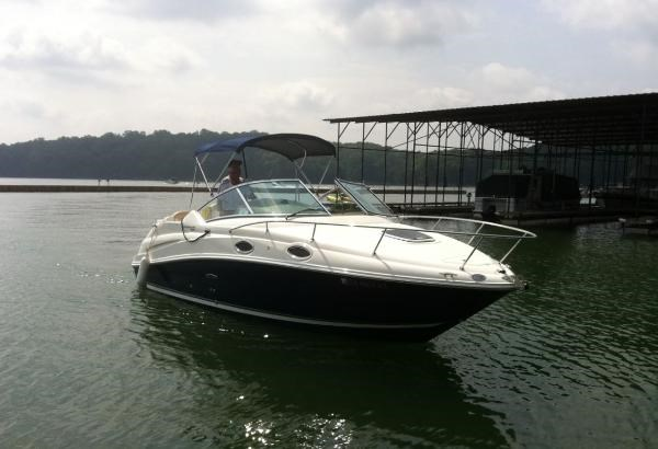 2009 sea ray 240 sundancer boat for sale 24 foot 2009 for Used outboard motors for sale in ga