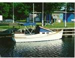 2003 Wood/Resin Power Camp Cruiser/Canal Boat 20' Plywood/Resin Power Camp Cruiser/Canal Boat