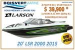 Larson *20 LSR 2000 2015