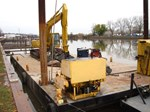 2008 Custom Built 1980 63.5' x 26' x 4' Spud Barge, 21&#