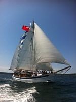 Frederikssund Denmark Wooden Sailboat 1957