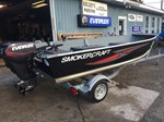 2016 Smoker Craft 16' Big Fish Tiller